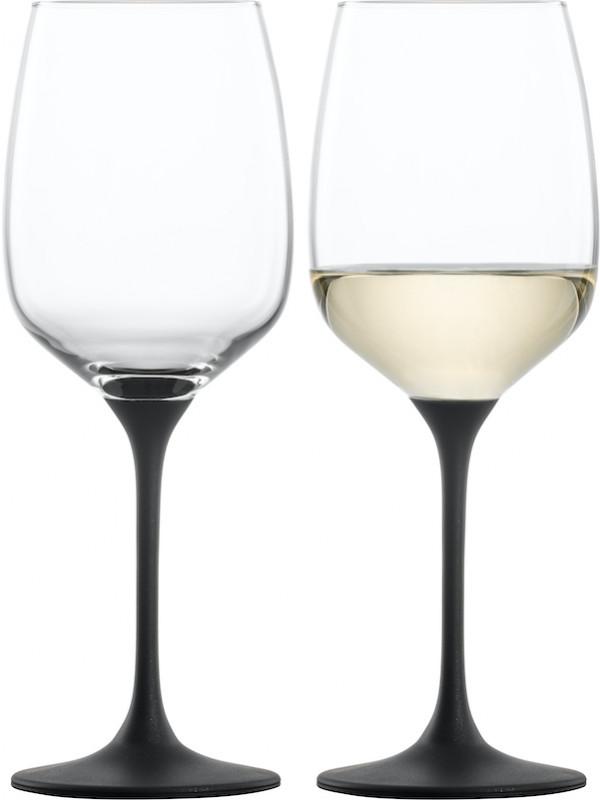 EISCH Weißweinglas black Kaya - 2 Stück im Geschenkkarton