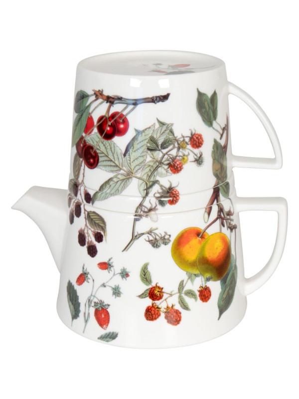 KÖNITZ Kanne mit Deckel und Becher Tea for me - Fruits