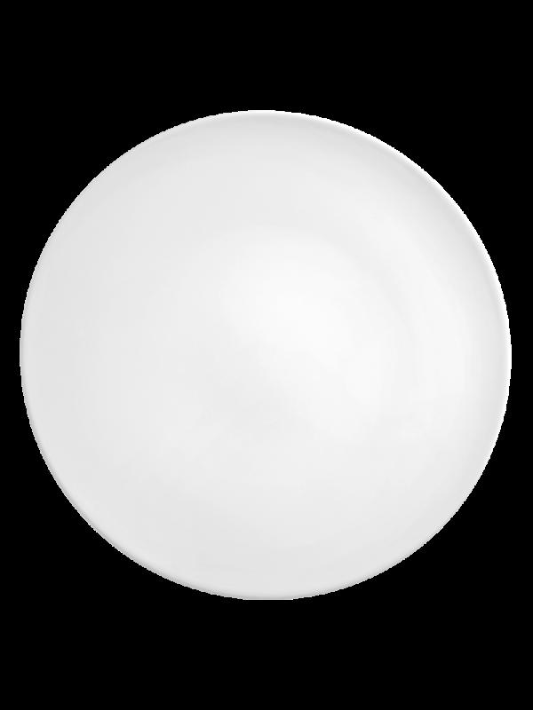 SELTMANN WEIDEN Servierplatte rund flach 33 cm Life weiß
