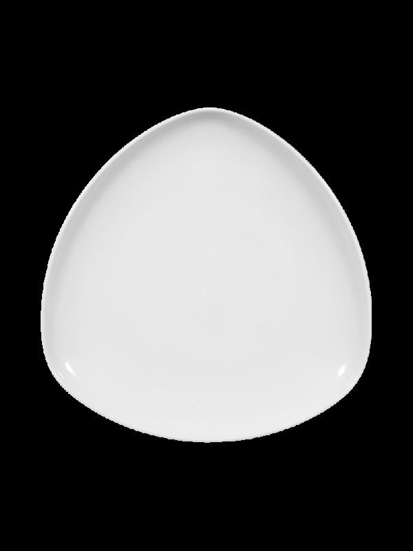 SELTMANN WEIDEN Speiseteller dreieckig 25,5 cm Sketch weiß