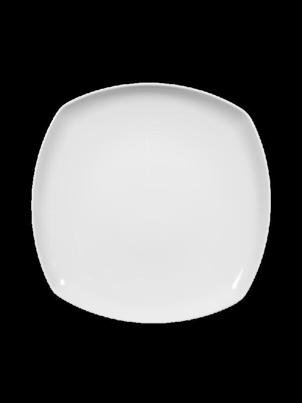 SELTMANN WEIDEN Speiseteller eckig 26 cm Sketch weiß