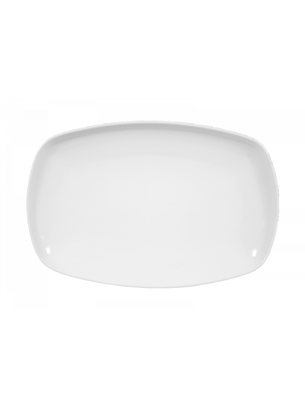SELTMANN WEIDEN Servierplatte eckig 25x16,5 cm Sketch weiß