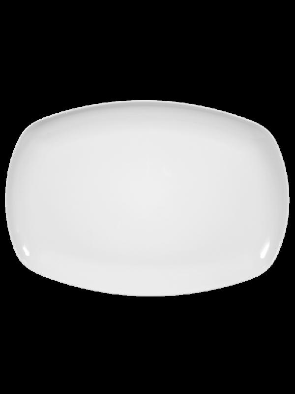 SELTMANN WEIDEN Servierplatte eckig 35x24 cm Sketch weiß