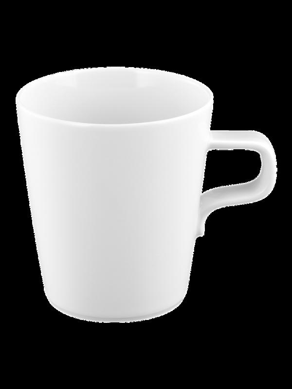 SELTMANN WEIDEN Milchkaffeeobertasse 0,37 l No Limits weiß