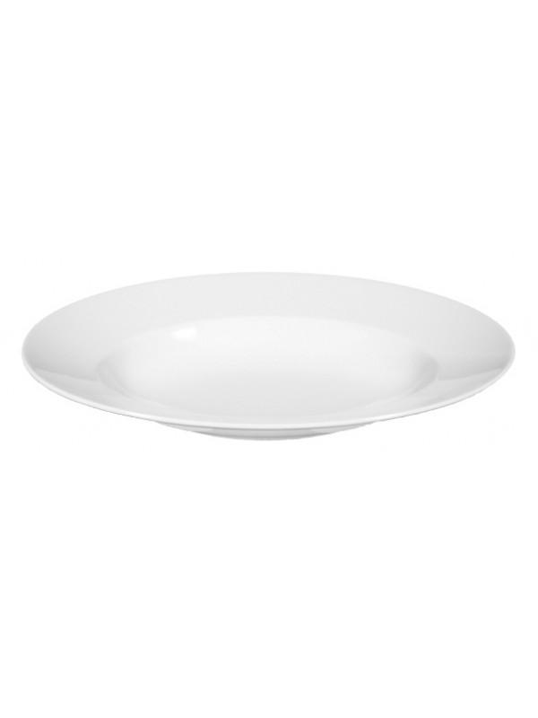 SELTMANN WEIDEN Pastateller oval 32x26 cm Lukullus weiss