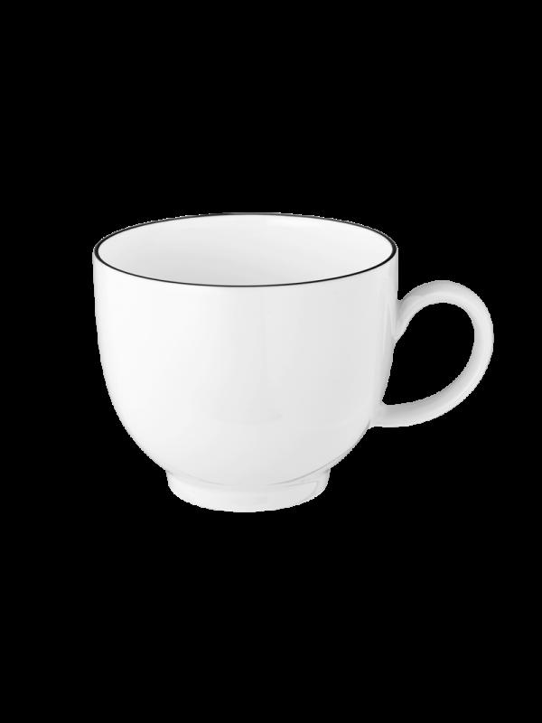 SELTMANN WEIDEN Kaffeeobertasse 0,22 l Lido Black Line