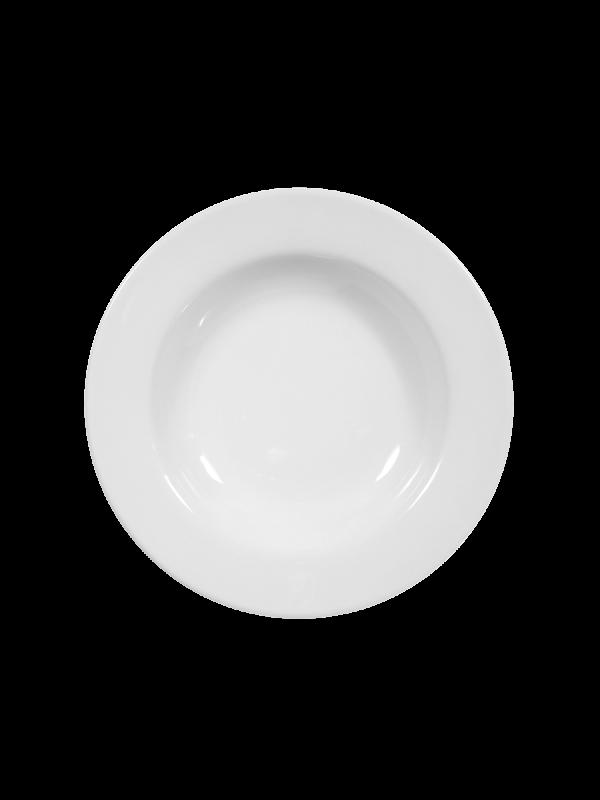 SELTMANN WEIDEN Suppenteller rund 22 cm Rondo/Liane weiß