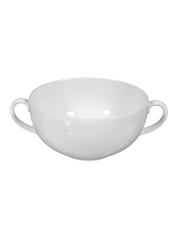 SELTMANN WEIDEN Suppenobertasse 0,36 l Rondo/Liane weiß