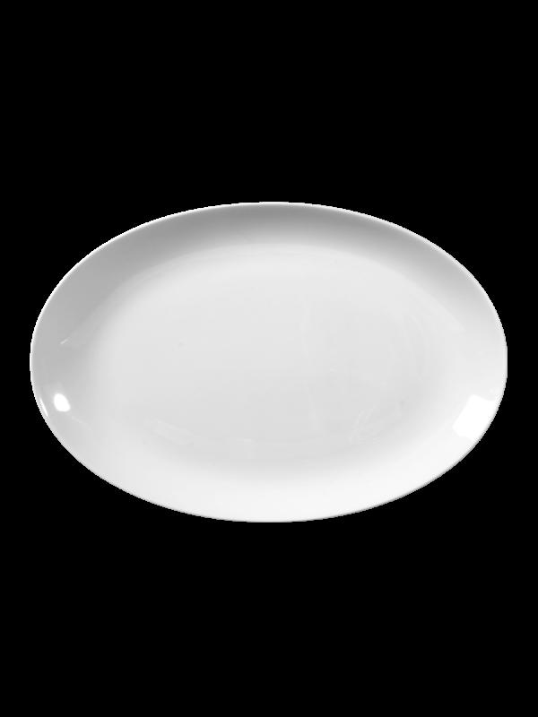 SELTMANN WEIDEN Servierplatte oval 28x19 cm Rondo/Liane weiß