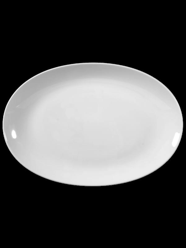SELTMANN WEIDEN Servierplatte oval 38,5x26 cm Rondo/Liane weiß