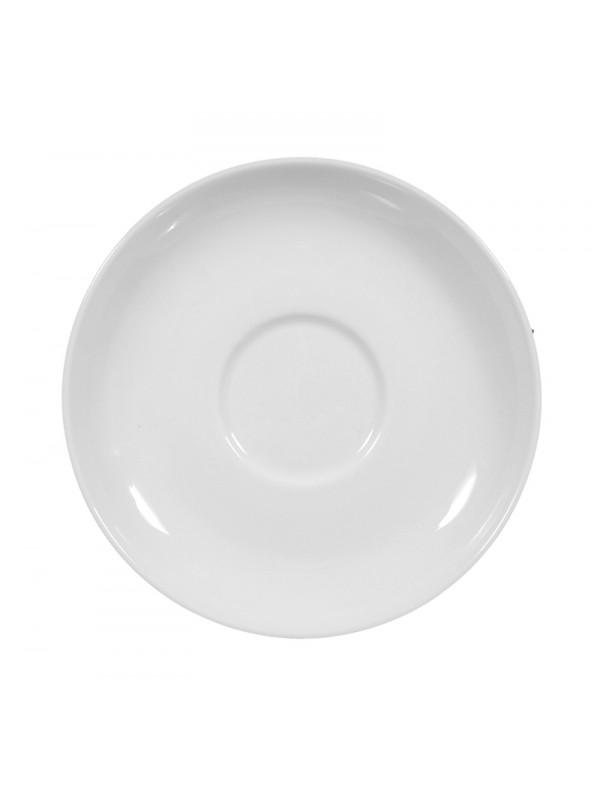 SELTMANN WEIDEN Teeuntertasse 13 cm Rondo/Liane weiß