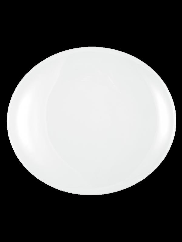 SELTMANN WEIDEN Platzteller oval 34 cm Modern Life weiß