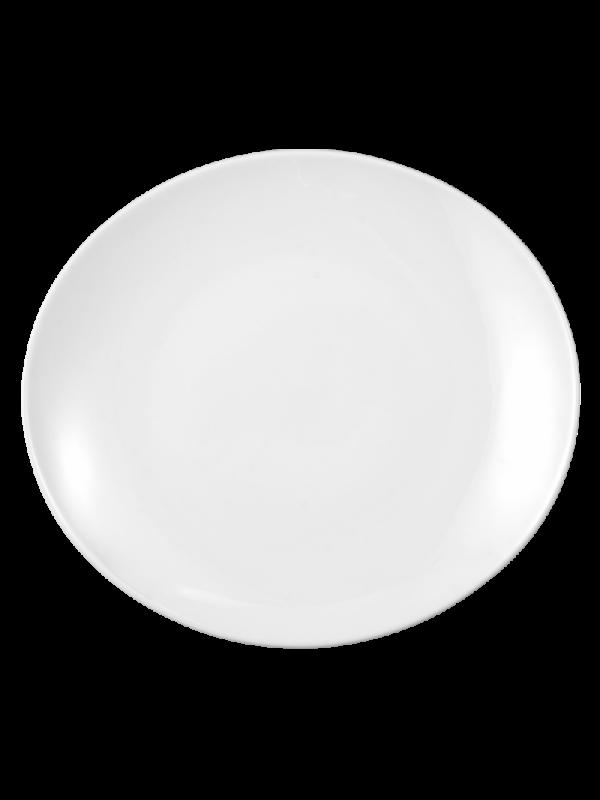 SELTMANN WEIDEN Speiseteller oval 29 cm Modern Life weiß