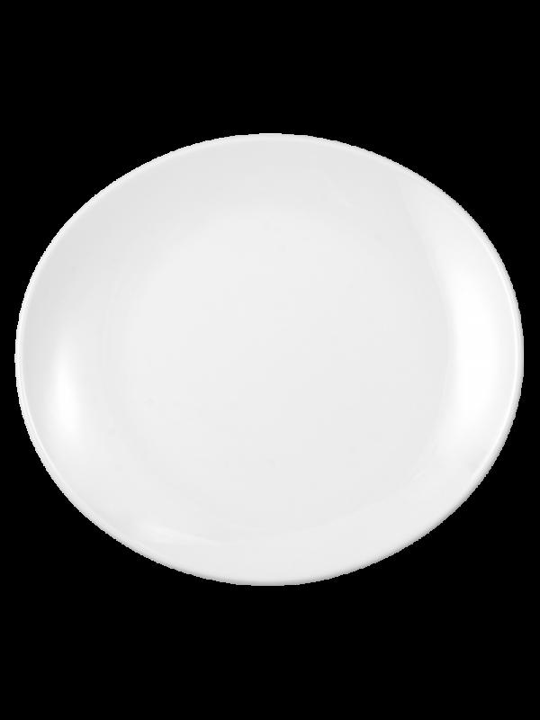 SELTMANN WEIDEN Speiseteller oval 25 cm Modern Life weiß