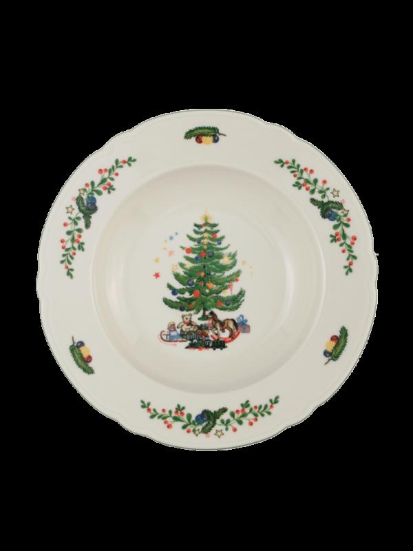 SELTMANN WEIDEN Suppenteller rund 23 cm Marie-Luise Weihnachten