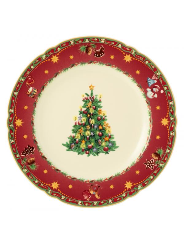 SELTMANN WEIDEN Speiseteller rund 25 cm Marie-Luise Weihnachtsnostalgie