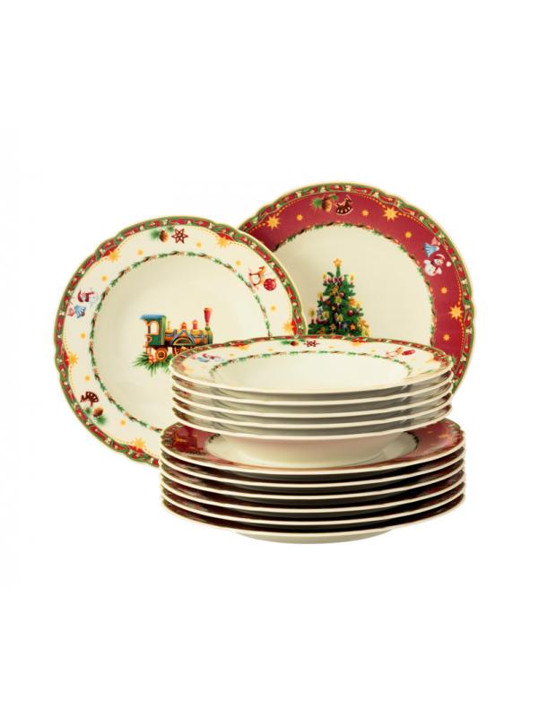SELTMANN WEIDEN Tafelservice 12-teilig Marie-Luise Weihnachtsnostalgie