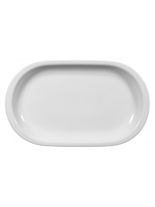 SELTMANN WEIDEN Servierplatte oval 33x20 cm Compact weiß