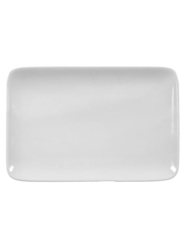SELTMANN WEIDEN Butterplatte 20,5x12,5 cm Compact weiß