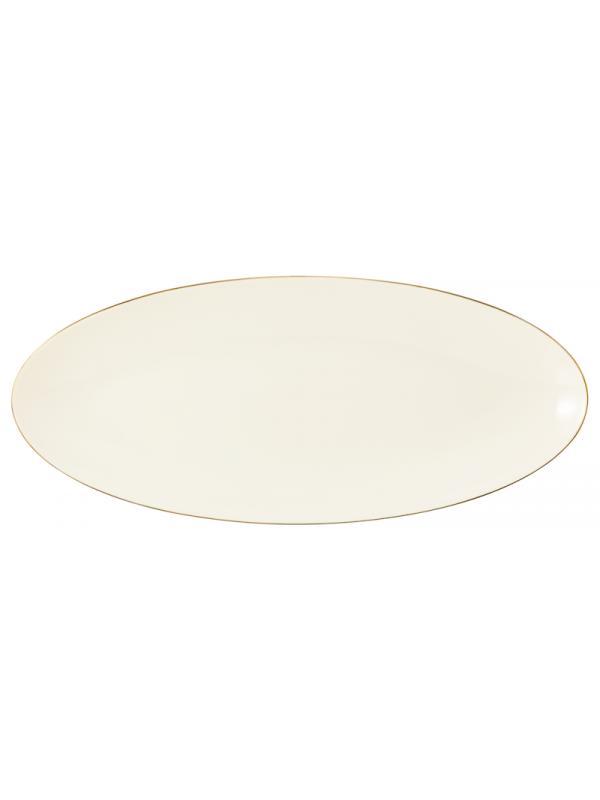 SELTMANN WEIDEN Servierplatte 43x19 cm Medina Gold
