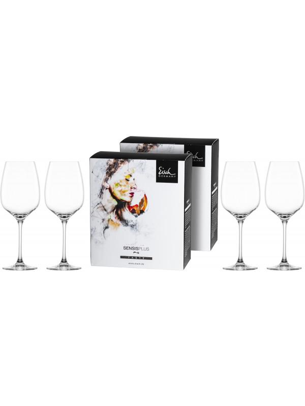 EISCH Bordeauxglas Superior SENSISPLUS - 4 Stück im Geschenkkarton