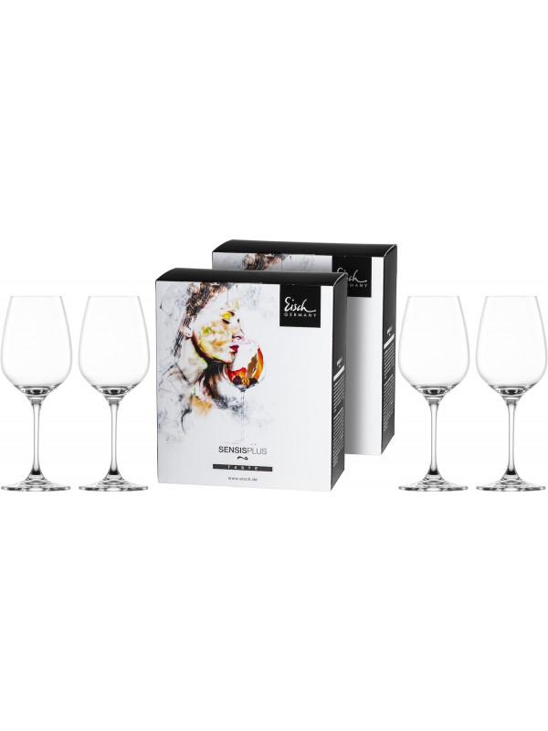 EISCH Weißweinglas Superior SENSISPLUS - 4 Stück im Geschenkkarton