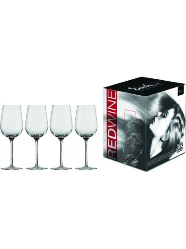 EISCH Rotweinglas Vinezza - 4 Stück im Geschenkkarton