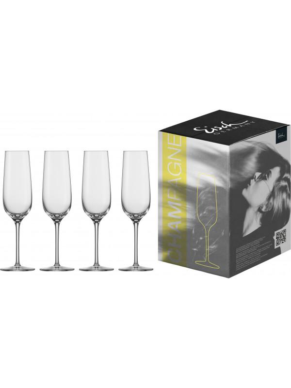 EISCH Sektglas Vinezza - 4 Stück im Geschenkkarton
