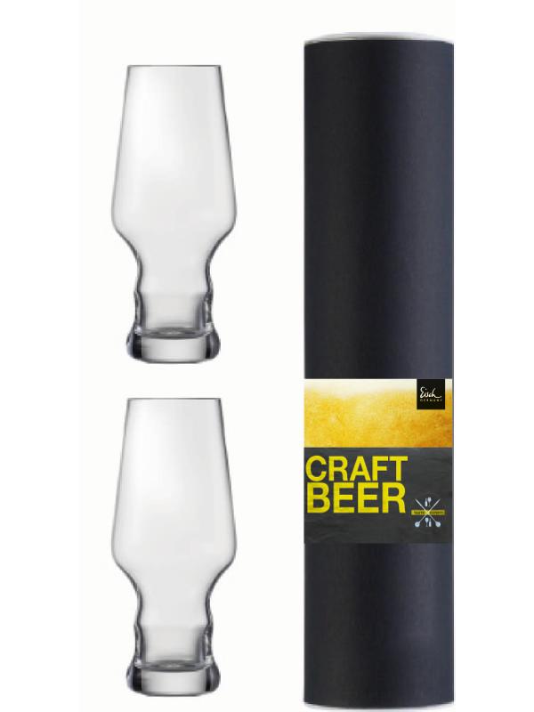 EISCH Becher 450 ml Craft Beer Experts – 2 Stück in Geschenkröhre