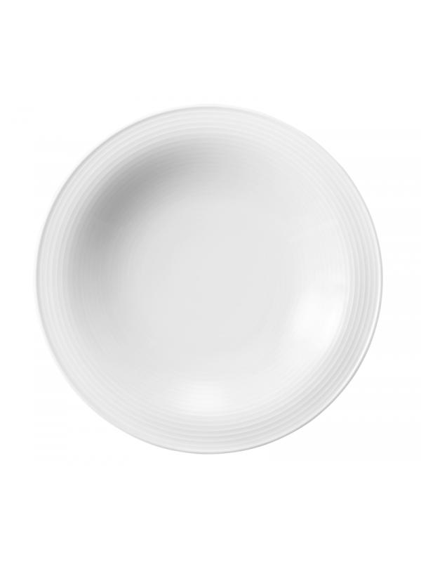 SELTMANN WEIDEN Suppenteller rund 22,5 cm Beat weiß
