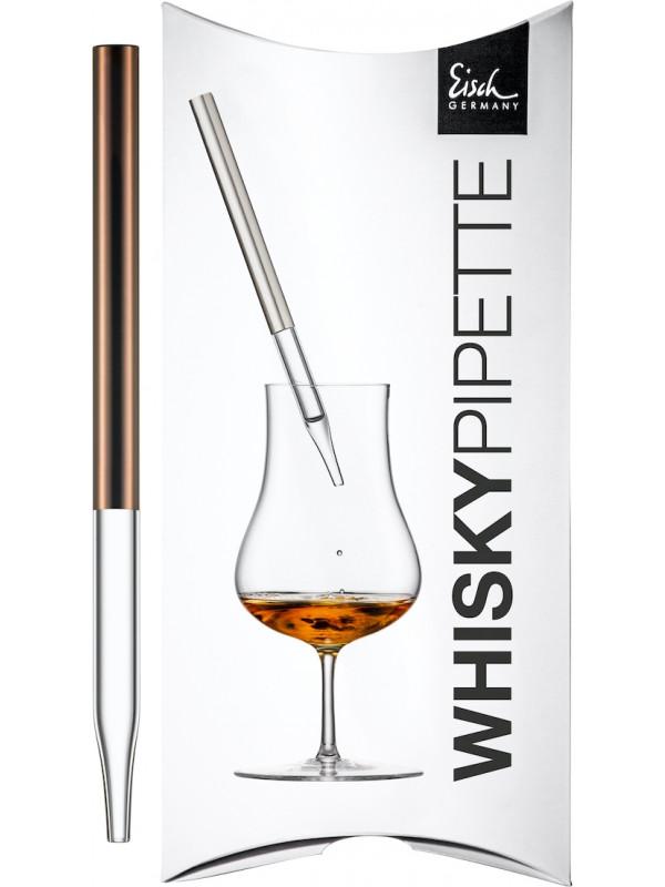 EISCH Whisky-Pipette kupfer Gentleman im Geschenkkarton