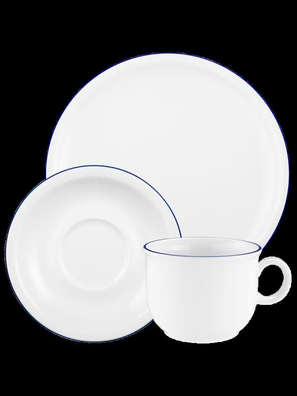 SELTMANN WEIDEN Kaffeeservice 18-teilig Compact Blaurand