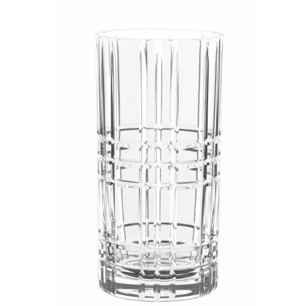 NACHTMANN Square Longdrinkglas – 4er Set