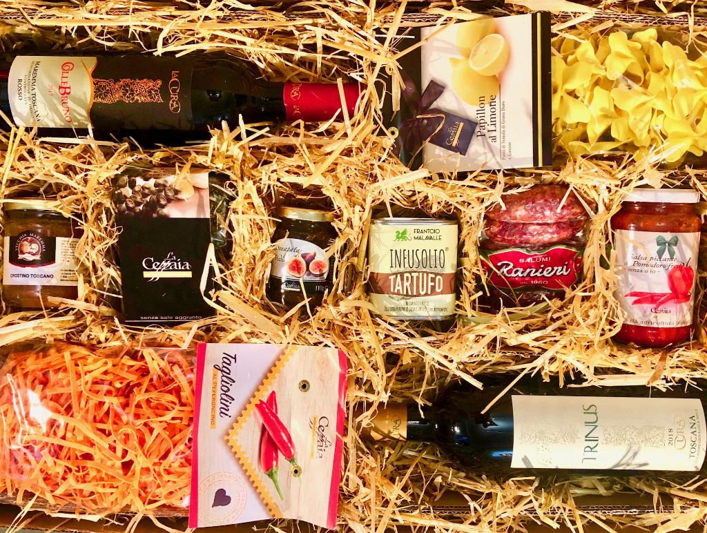 """""""Lucia-Grande"""" Italienische Geschenkbox aus Pinienholz von La Colombaina"""