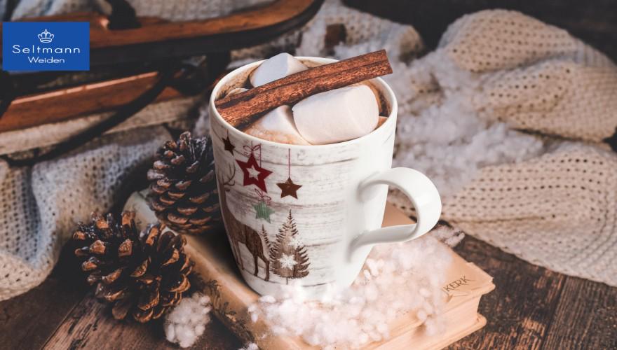 Kaffeebecher Life Christmas