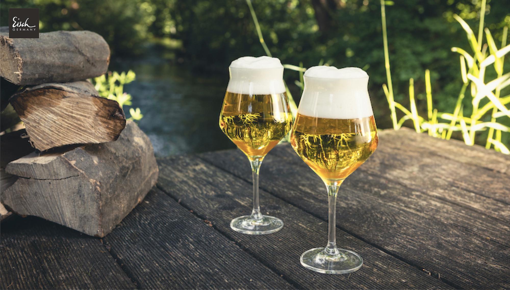 Biergläser für Ihren Sommertisch